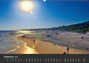 Sonne Strand und Meer in Kolberg (Wandkalender 2019 DIN A2 quer)