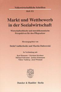 Markt und Wettbewerb in der Sozialwirtschaft