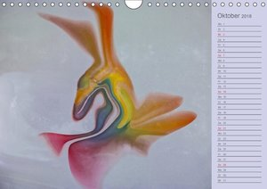 Digitale Malerei / Geburtstagskalender
