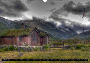 Fjordnorwegen (Wandkalender 2020 DIN A3 quer)