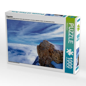 Zugspitze 1000 Teile Puzzle quer