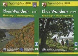 RheinWandern (WR) - 2-teiliges Kartenset. 1:25000