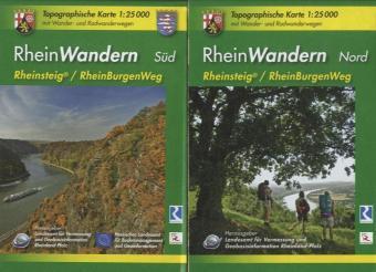 RheinWandern (WR) - 2-teiliges Kartenset. 1:25000 - zum Schließen ins Bild klicken