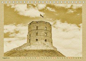 Das Baltikum - Ein Kalender im Zeitungsstil