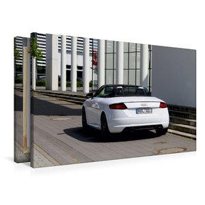 Premium Textil-Leinwand 90 cm x 60 cm quer TT Roadster 8S Farbe