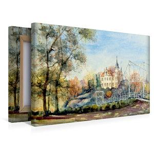 Premium Textil-Leinwand 45 cm x 30 cm quer Gattersburg