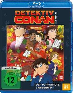 Detektiv Conan - 21. Film: Der purpurrote Liebesbrief - Blu-ray