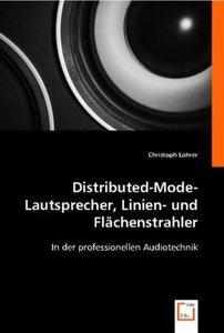 Distributed-Mode-Lautsprecher, Linien- und Flächenstrahler