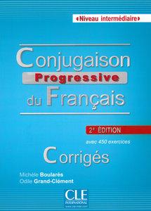 Conjugaison progressive - Niveau intermédiaire. Corrigés