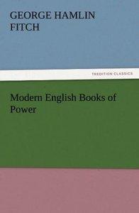 Modern English Books of Power