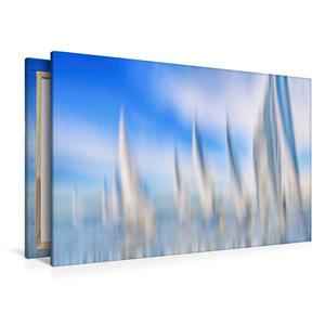 Premium Textil-Leinwand 120 cm x 80 cm quer Verfolgerfeld