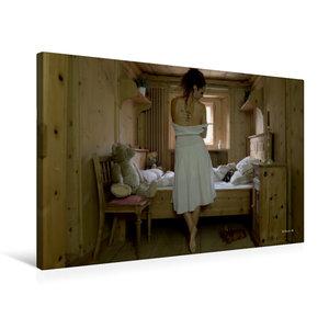 Premium Textil-Leinwand 75 cm x 50 cm quer Trautes Heim