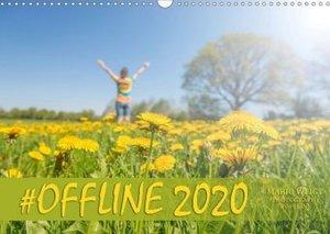 #OFFLINE (Wandkalender 2020 DIN A3 quer)