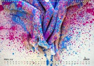 FARBSPIELE - Akt im Feuerwerk der Farben