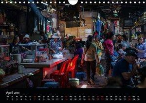 Märkte Kambodschas (Wandkalender 2019 DIN A4 quer)