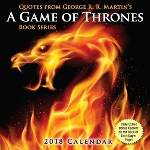 Quotes from George R.R. Martin\'s A Game of Thrones 2018 Day-To-