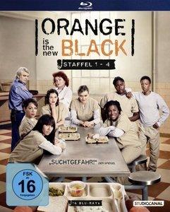 Orange is the New Black. Staffel.1-4, 16 Blu-rays