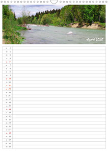 Isarauenzauber - Eine Flussliebe (Wandkalender 2020 DIN A3 hoch)