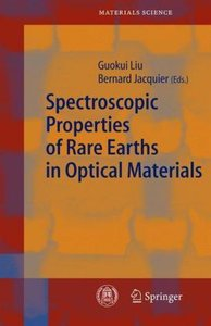 Spectroscopic Properties of Rare Earths in Optical Materials