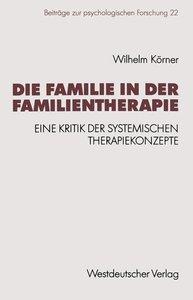 Die Familie in der Familientherapie