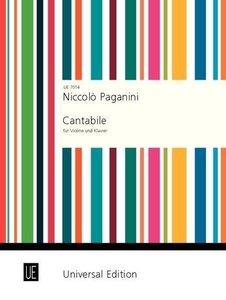 Cantabile D-Dur für Violine und Klavier