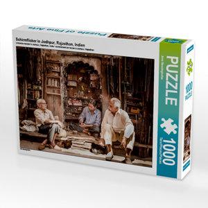 Schirmflicker in Jodhpur, Rajasthan, Indien 1000 Teile Puzzle qu