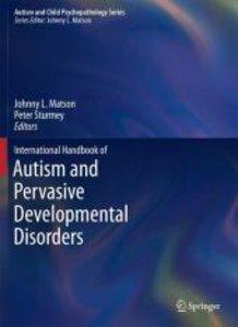 International Handbook of Autism and Pervasive Developmental Dis