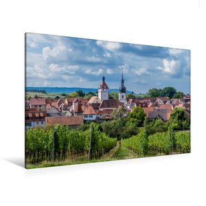 Premium Textil-Leinwand 120 cm x 80 cm quer Prichsenstadt