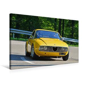 Premium Textil-Leinwand 75 cm x 50 cm quer Alfa Romeo Junior Zag