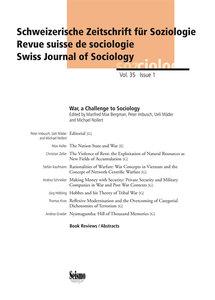 Wie Kriege die Soziologie herausfordern