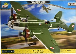 Cobi 5532 - Historical Collection, PZL. 37B Los, zweimotriger Bo