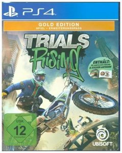 Trials Rising, 1 PS4-Blu-ray Disc (Gold Edition)