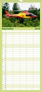 Modellhelis - Familienplaner hoch (Wandkalender 2019 , 21 cm x 4