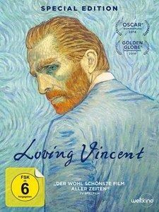 Loving Vincent, 2 DVD (Limitierte Special Edition)
