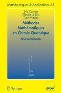 Méthodes mathématiques en chimie quantique. Une introduction