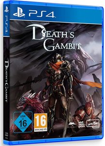 Death\'s Gambit, 1 PS4-Blu-ray Disc