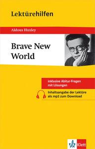 Lektürehilfen Huxley 'Brave New World'
