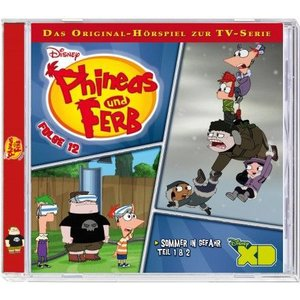 Phineas & Ferb Folge 12 Sommer in Gefahr Teil 1+2