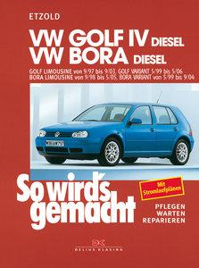 So wird's gemacht. VW Golf IV Diesel 68-150 PS ab 9/97 bis 9/03,