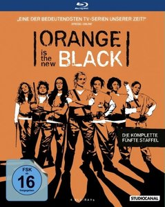 Orange is the New Black. Staffel.5, 4 Blu-rays