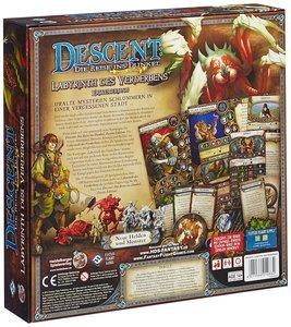 Heidelberger Spieleverlag HEI0603 - Descent 2. Edition: Labyrint