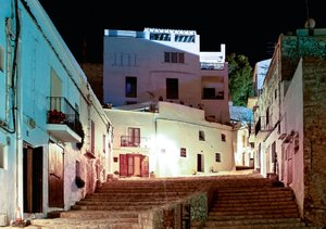 Ibiza by night (Tischaufsteller DIN A5 quer)