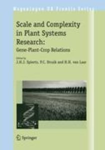 Scale and Complexity in Plant Systems Research