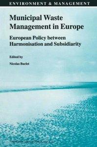Municipal Waste Management in Europe