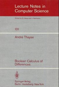 Boolean Calculus of Differences