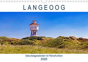 Langeoog Geburtstagskalender