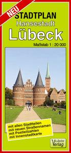 Stadtplan Hansestadt Lübeck 1:20 000