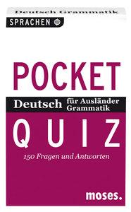 Deutsch für Ausländer. Grammatik. Pocket Quiz