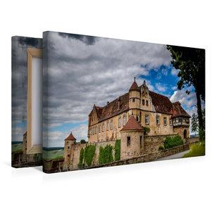 Premium Textil-Leinwand 45 cm x 30 cm quer Burg Stettenfels bei