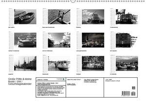 Große Pötte & kleine Boote / SW / Geburtstagskalender